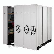 High Density Office Filing Cabinet Mechanical Mobile Shelving Storage System
