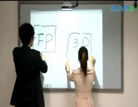 China High-Quality Office Laser Infrared technology Smart Board Interactive Whiteboard FP3 interactive whiteboard