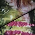 shaoxing algodão grosso impresso sarja afican tecidos feitos na china