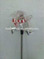 solar bear stick light,garden solar light, solar led garden light