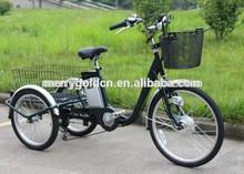 electric tricycle TC24 three wheel vehicle