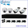 2014 neueste sicherheitssystem!!! 4 chs wirtschaftlichen cvr kit mit ir wasserdichte kamera hd-cvi, konkurrenzfähiger preis!