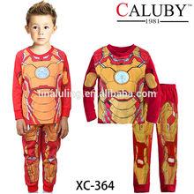 2015 autumn kids pajamas sets baby boy casual clothing sets brand children iron men boy shirt pajamas kids