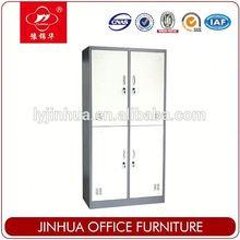 Four Doors Steel Locker Storage Wardrobes Clothes Furniture