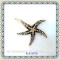 cristal starfish cheveux accessoires pour les filles