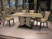 china supplier alibaba express supported 2014 hot sell marble table