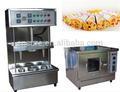 Ce& isogarantie certifiéeo machine fromage à pizza/vente chaude machine à pizza cône