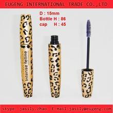 Cosmetic Aluminum Mascara Case / Tube Packaging