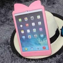 Cute 3D cartoon silicone soft case cover for apple iPad mini