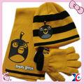 inverno a maglia cappello e guanti e sciarpa kit