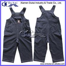 kids fashion jean long pants suspender