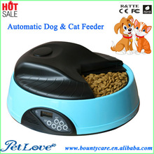 4 Meal Auto Dog & Cat Feeder with Personalized Record