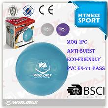 gym equipment wholesale eco-friendly 65cm Pvc soft yoga ball