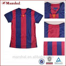 All club ladies t shirt football,woman china sports wear,ladies football stock jerseys