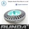 wheel barrow solid rubber wheel 4.00-8
