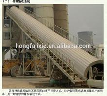 HZS50 concrete batch plant /self loading ready mixed concrete/ ready mix concrete plant for sale