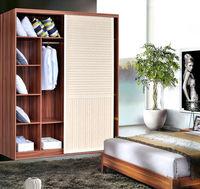 wooden sliding folding bedroom wardrobe doors design