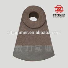 Industry Bimetal Composite Heavy Hammer Crusher Hammer Head