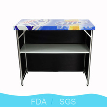 Zhejiang Yongkang commercial used pub furniture bar table with any artwork