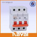 Circuit DC interruptor DC de la energía solar interruptor, 1 / 2 / 3 / 4 polo circuit DC interruptor, 6KA SEMKO KEMA certificados DC cirucit interruptor