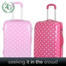 Cute Polka Dot Luggage , PC girls Luggage , Travelling Luggage New