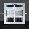 Registre de plafond (passage d'obturateur, grille d'aération)