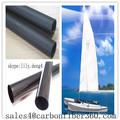 fábrica por atacado alta qualidade peso leve e forte fibra de carbono para o mastro mastro de vela