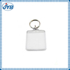 New design clear acrylic key chain /clear plastic key rings from Shenzhen China manufacture