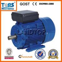 LANDTOP single phase motor 1kw 240v elektromotor 110v 1/2 hp 800 rpm electric motor
