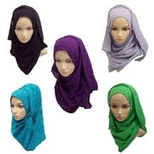 wholesale chiffon cotton polyester Malaysia Hijabs promotion