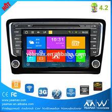 """VW dvd car audio navigation system 8"""" 2 din Car GPS Navigator for Volkswagen"""