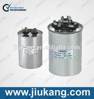 huile valise en aluminium rempli condensateur CBB65