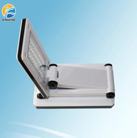 2014 new design ABS led desk lamp touch dimming folding