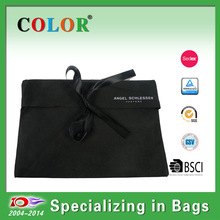 Folded gift non woven bag,document bags