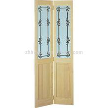 wooden main entrance wood glass door design 2014
