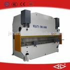 WE67Y 300T/4000 cnc hydraulic stainless steel bending machine,press brake