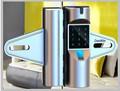 fechadura eletrônica para frameless vidro da porta fechadura magnética