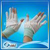 2014 High Quality esd fingerless nylon gloves