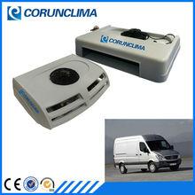Transport cooling system van refrigeration unit