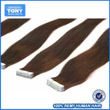 Alibaba golden supplier high quality fusion tape virgin hair extension