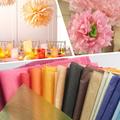De regalo de papel de embalaje, el tejido paperin de lámina y rollo de fábrica al por mayor