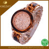 Fashion simple design promotional cheap alloy silicone watch