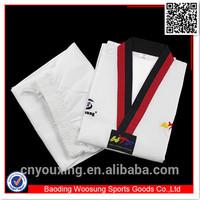 Taekwondo suits wtf custom taekwondo uniform made in China