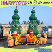 christmas decoration deer/tree/ santa claus christmas inflatable