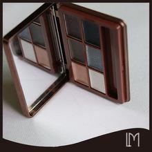 Classic beauty design 6 color eye shadow palette
