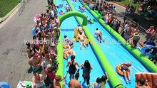 2014 EN14960 manufacturer high quality inflatable slip and slide