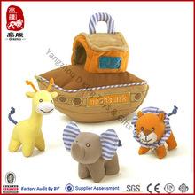 Wholesale Soft Stuffed Animal Plush Noah's Ark