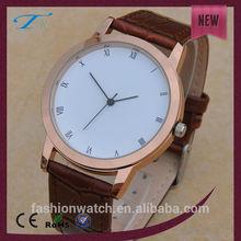 Brand new wrist quartz men's watch vogue man watch hot sale current water proof quartz busines watch