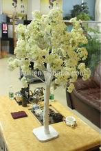 2014 hot sale asian wedding stage decoration,artificial cherry blossom tree wedding decor