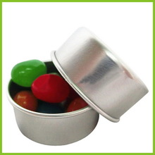 Low price Best-Selling 56mm aluminum silver lids